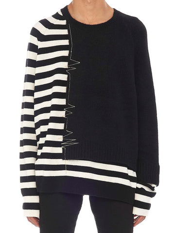 Haider Ackermann Striped Embroidered Jumper