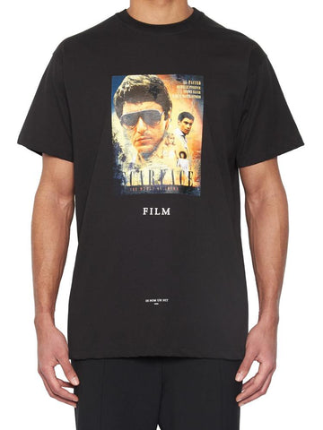 Ih Nom Uh Nit Scarface Movie Poster T-Shirt