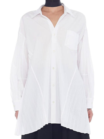 Junya Watanabe Pleated Detailed Shirt