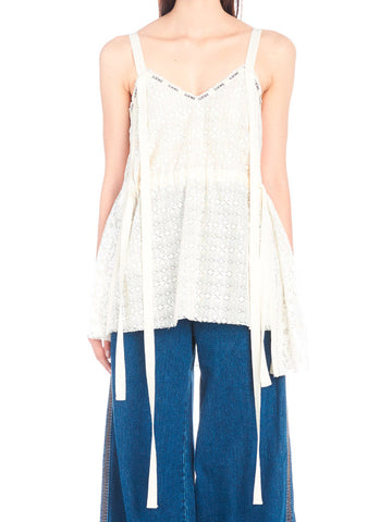 Loewe Camisole Lace Top