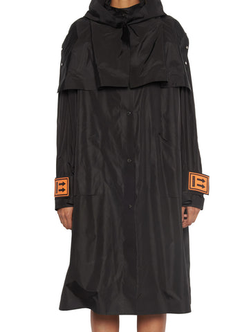 Off-White X K-Way Oversize Trench Coat