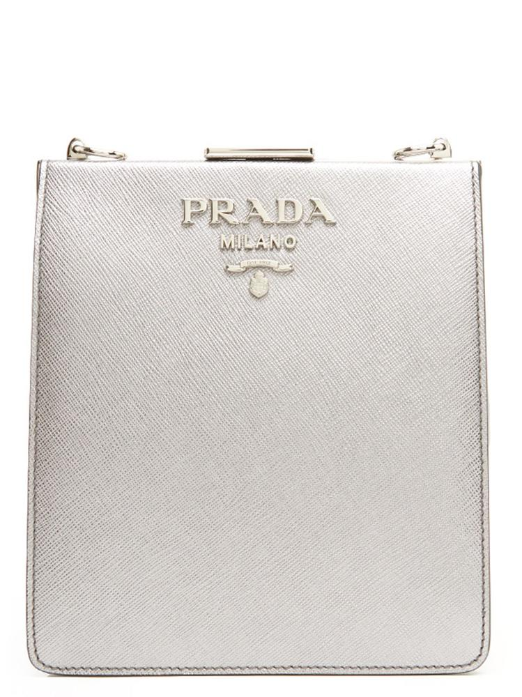 06c08d5aac8729 Prada Square Logo Crossbody Bag – Cettire