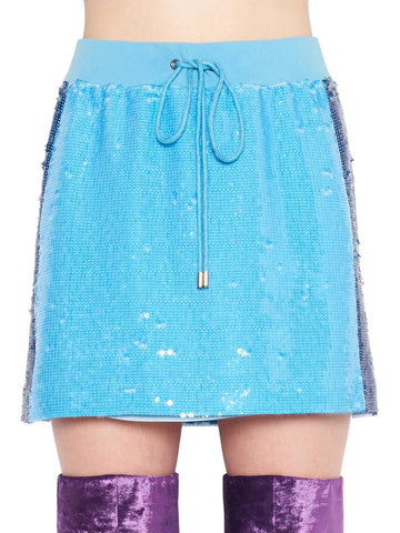 Alberta Ferretti Sequinned Mini Skirt