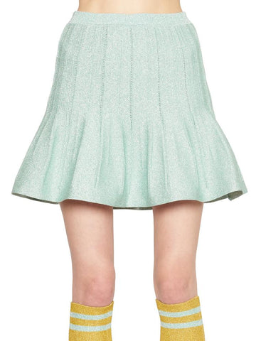 Alberta Ferretti Flared Mini Skirt
