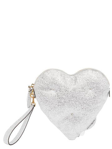 Anya Hindmarch Chubby Heart Clutch