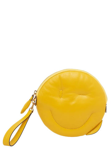 Anya Hindmarch Chubby Wink Smiley Clutch