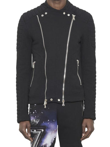 Balmain Fitted Zip-Up Jacket
