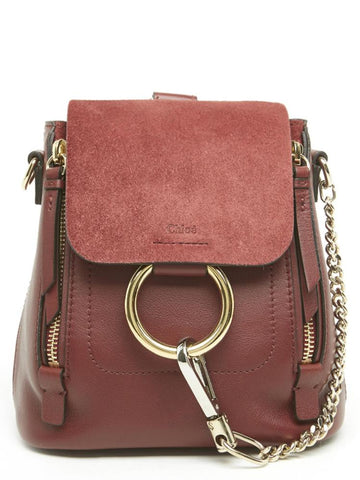 Chloé Mini Faye Backpack