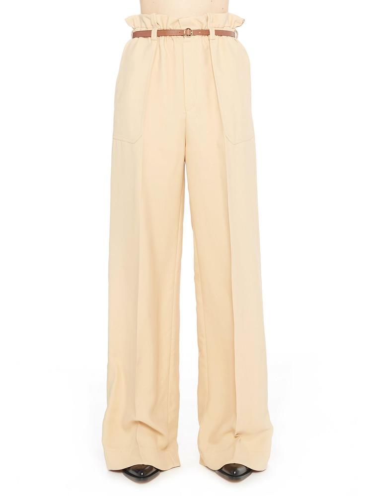 Chloé Wide leg pants CHLOÉ PAPERBAG WIDE LEG PANTS