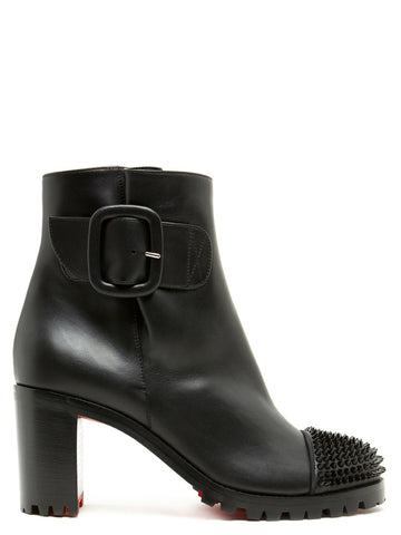 Christian Louboutin Olivia Snow Studded Ankle Boots