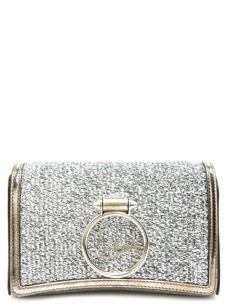 664d0875bc34 Christian Louboutin Rubylou Glitter Clutch Bag – Cettire