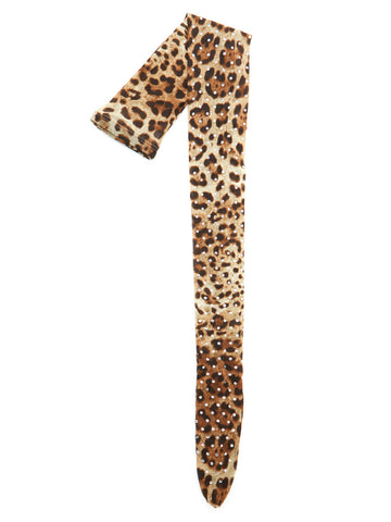 Dolce & Gabbana Animal Print Tights