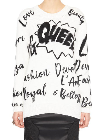 Dolce & Gabbana Graffiti Knitted Jumper