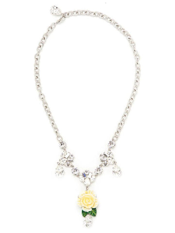 Dolce & Gabbana Rose Pendant Necklace