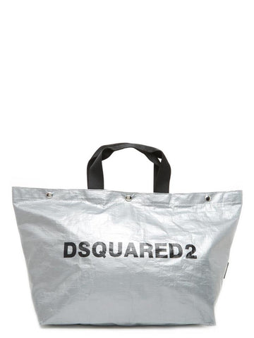 Dsquared2 Logo Oversized Tote Bag