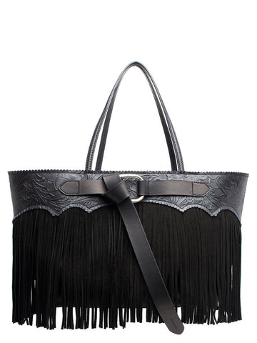 Dsquared2 Fringed Shopper Tote Bag