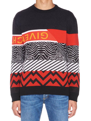 Givenchy Patterned Jumper