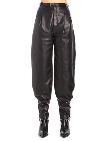 Givenchy Relaxed Fit Leather Pants