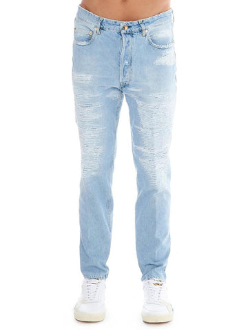 Golden Goose Deluxe Brand Happy Distressed Denim Jeans