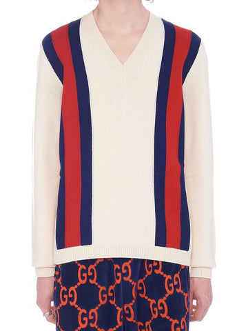Gucci Web Band Print Jumper