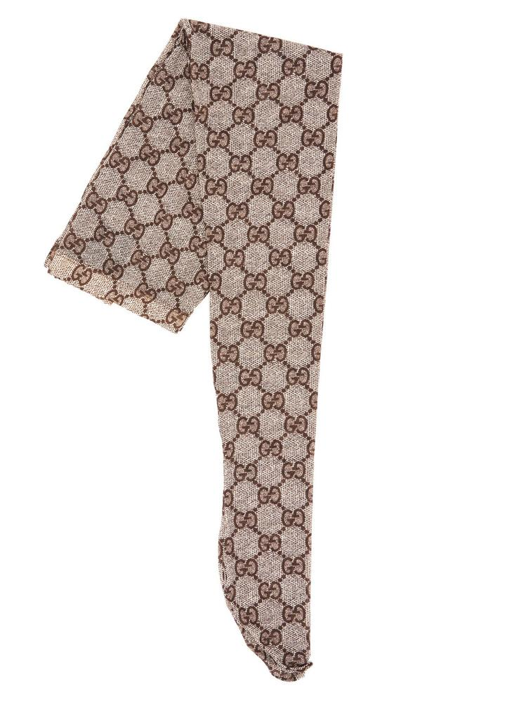 GUCCI GUCCI GG PATTERNED TIGHTS
