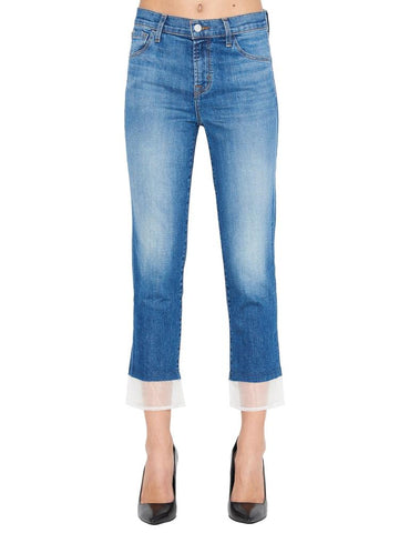 J Brand Cropped Ruby Jeans