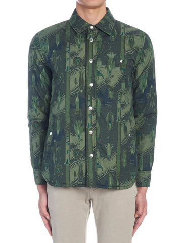 Maison Kitsunè Dream Amplifier All Over Print Shirt
