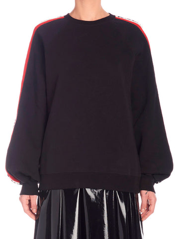 MSGM Stripe Sleeve Sweater