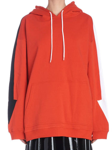 MSGM Arrow Sleeves Hoodie