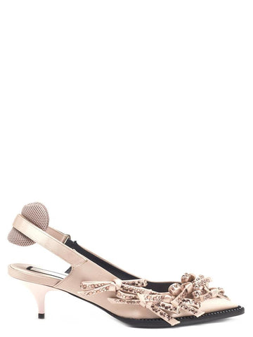 N°21 Bow Slingback Pumps