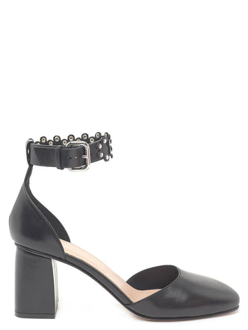Red Valentino Studded Ankle Strap Pumps