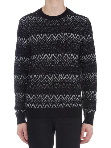 Saint Laurent Zig Zag Jumper