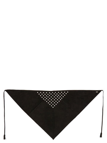 Saint Laurent Eyelet Scarf