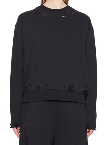 T By Alexander Wang Distressed Jumper