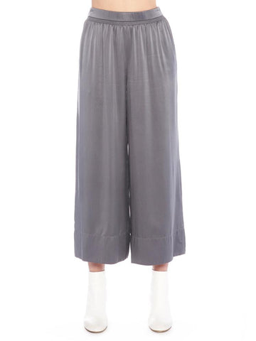 Theory Cropped Smocked Culottes