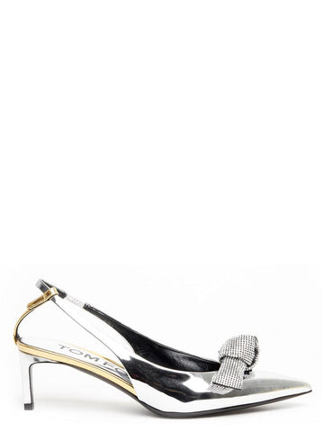 Tom Ford Knot Mirror Pumps