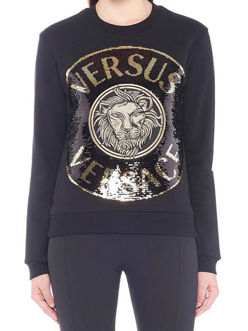 Versus Embroidered Logo Sweatshirt
