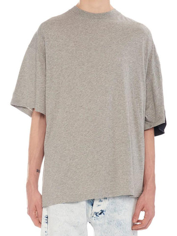 Y/Project Two-Tone Oversized T-Shirt