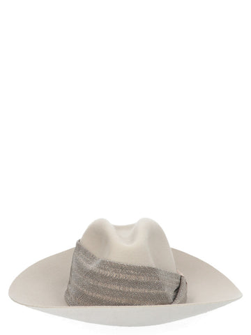 Brunello Cucinelli Head Band Detail Fedora