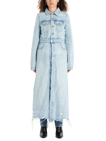 Alexander Wang Distressed Trench Coat