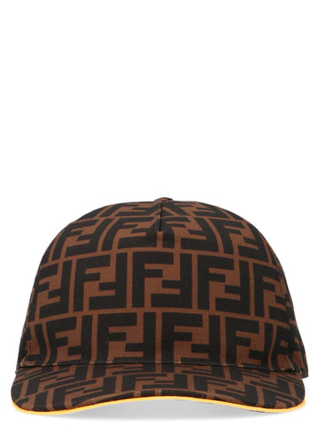Fendi All-Over Logo Cap