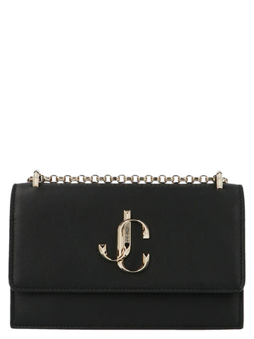 Jimmy Choo Bohemia Logo Chain Shoulder Bag