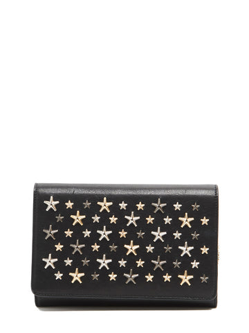 Jimmy Choo Elise Star Studded Crossbody Bag