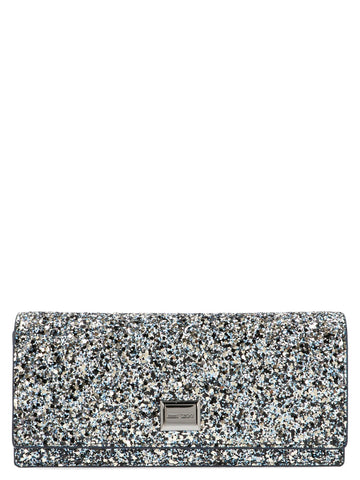 Jimmy Choo Glitter Crossbody Bag