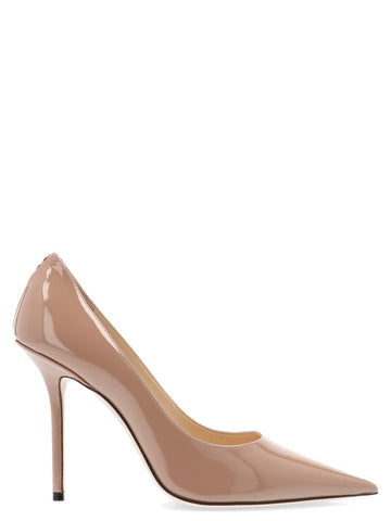 Jimmy Choo Love 100 Pointed Toe Pumps