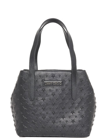 Jimmy Choo Small Sofia Star Studded Tote Bag