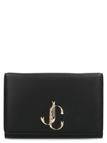 Jimmy Choo Logo Bohemia Chain Shoulder Bag