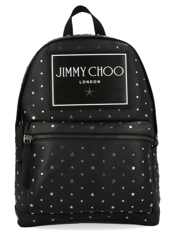 Jimmy Choo Wilmer Star Studded Backpack
