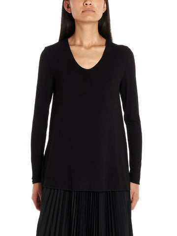 'S Max Mara Pleated Skirt Top and Tee Set