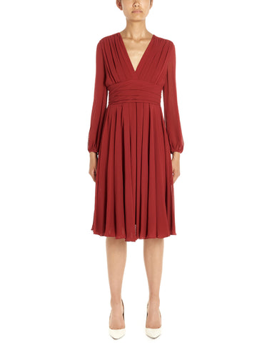 Max Mara Studio Balloon Sleeve Dress
